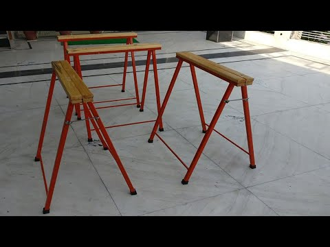 Diresta inspired steel sawhorse build