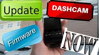 Howto update your dashcam firmware