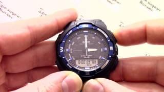 обзор часов Casio OutGear SGW-500H