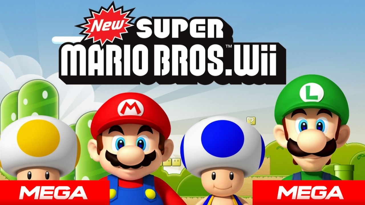 Descargar New Super Mario Bros Wii Para Pc 1 Link Mega 2017