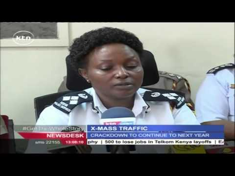 Kenya Police Service warns motorists against breaking laws during the festivities