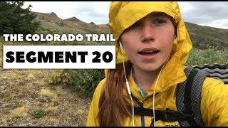 The Colorado Trail, Segment 20: Eddiesville Trailhead to San Luis Pass (mile 329.3 -  343)