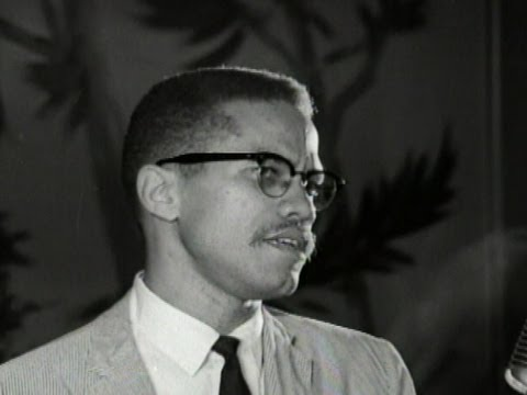 Civil Rights Activist Leader Malcolm X Speech- 1961