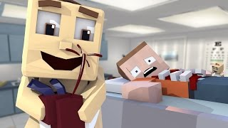 Minecraft | Who's Your Daddy Family? Baby's First Surgery GOES WRONG! (Heart Transplant)