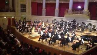 Orquesta Sinfónica Nacional Juvenil Chile - Viena.3 de Octubre 2012 Wiener Konzerthaus