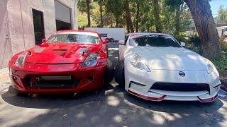 Battle of the Drift Z's!: Pro VS Street Car