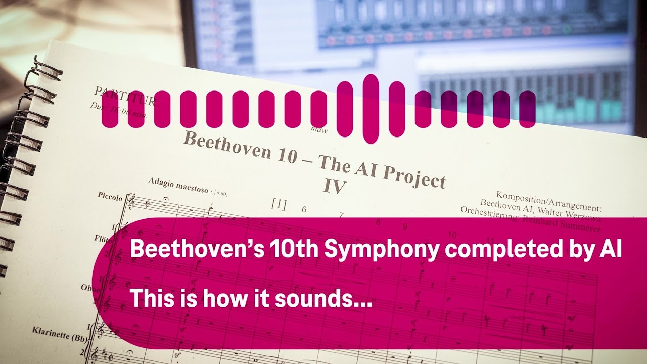 Beethoven's Unfinished Tenth Symphony Gets Completed by Artificial Intelligence: Hear How It Sounds