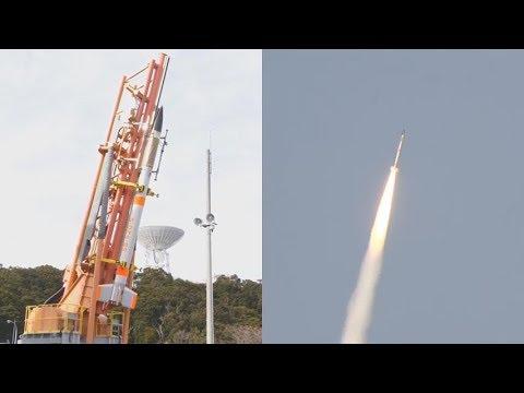 SS-520 No. 5 launches TRICOM-1R