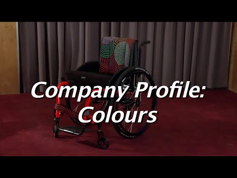 The Manual Wheelchair Comparison:  Colours