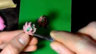как лепить красивый клевер из пластилина