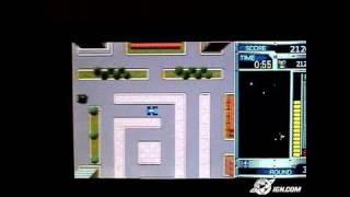 Namco Museum Battle Collection Sony PSP Gameplay - Rally-X
