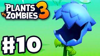 Hydrangea! Exclusive Club Plant! - Plants vs. Zombies 3 - Gameplay Walkthrough Part 10