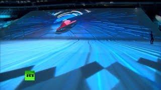 Репетиция шоу в олимпийском ледовом дворце «Большой»
