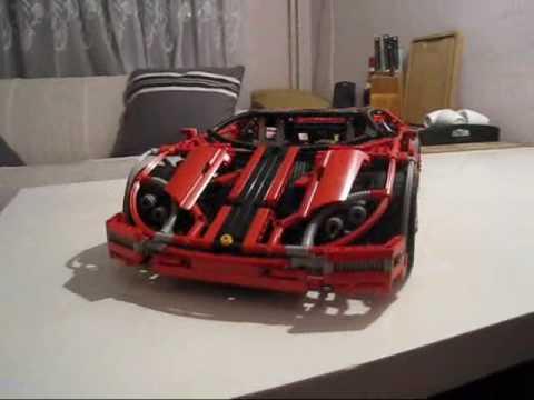 lego technic super car with special lamborghini doors. Black Bedroom Furniture Sets. Home Design Ideas