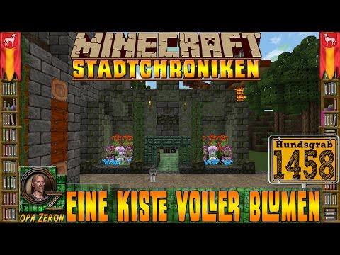 Minecraft #1458 -Stadtchroniken- Eine Kiste voller Blumen [HD+Deutsch] - Duur: 25:50.