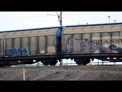 Freights in Malmö, Sweden (HD) 1