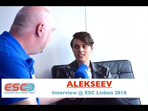ALEKSEEV (Belarus) - interview Eurovision Lisbon 2018 | ESC Radio