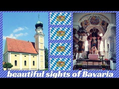 beautiful sights of Bavaria Germany # 001 Baroque Churches and Chapels