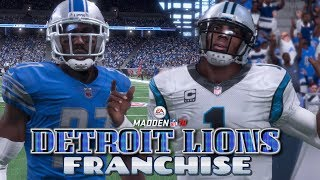 Madden NFL 18 Detroit Lions Franchise EP5 -  Week 5 vs Carolina Panthers 2017 Video