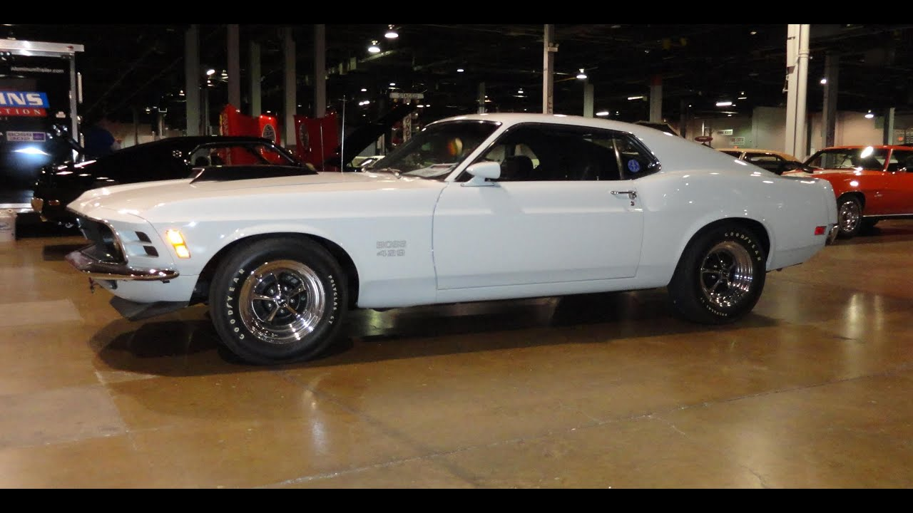 1970 ford mustang boss 429 with pastel blue paint my car story with lou costabile