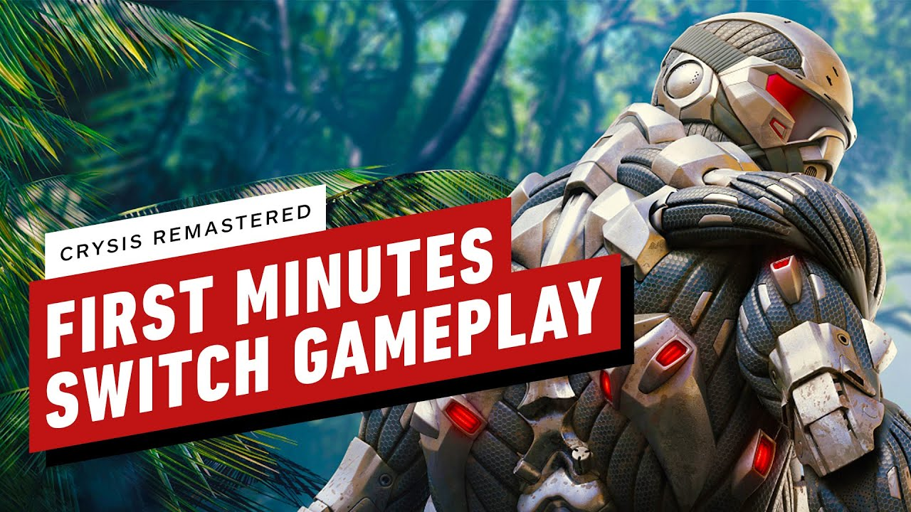 Crysis Remastered: First 15 Minutes of Nintendo Switch Gameplay