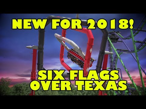 Harley Quinn Spinsanity New 2018 Ride Six Flags Over Texas