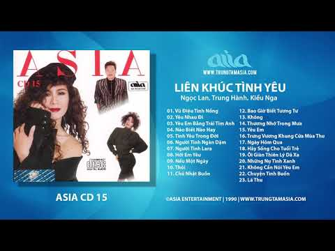Liên Khúc Tình Yêu (ASIA CD 15)