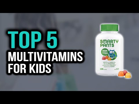 Top 5 Best Multivitamins For Kids