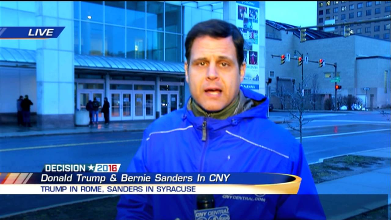 Brandon Roth Live Previewing Sanders Trump In Cny 4 12 16