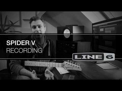 Recording with Spider V | Line 6