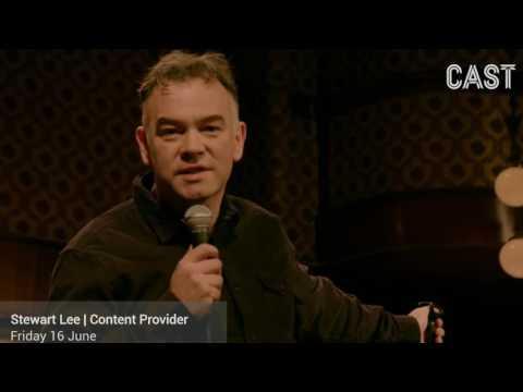 Stewart Lee - Content Provider - Friday 16 June
