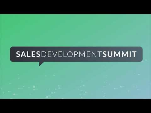 Sales Development Summit 2018 Promo