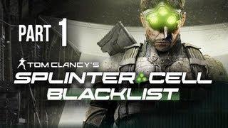 Splinter Cell Blacklist Gameplay Walkthrough Part 1 - Introduction & Safe House