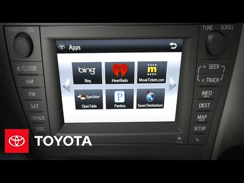 2012 Prius How-To: Premium HDD Navigation System with Entune & JBL Audio | Toyota