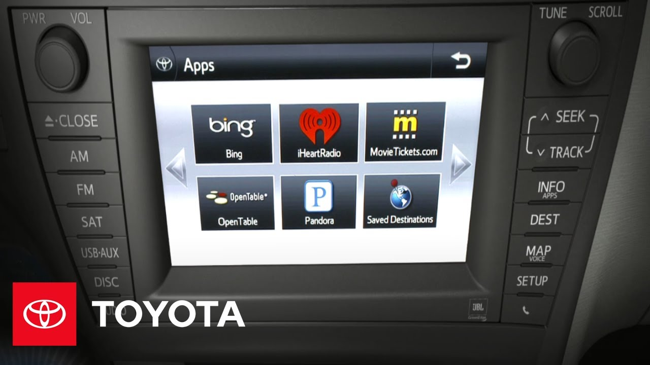 2012 prius how to premium hdd navigation system with entune jbl rh youtube com 2007 Toyota Prius 2012 Toyota Prius