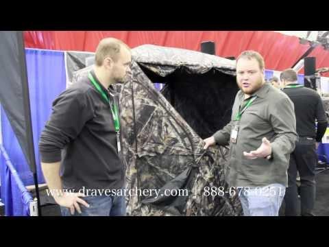 2013-2014 Mathews Trade Show: Barronett BIG MIKE Hunting Blind