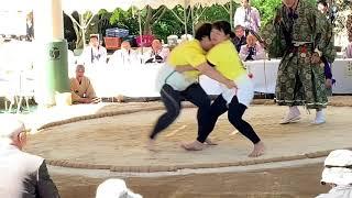 第28回女だけの相撲大会/松前郡福島町