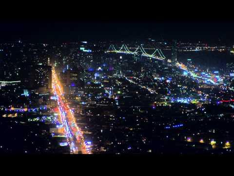 Ночной город [ Вид сверху]