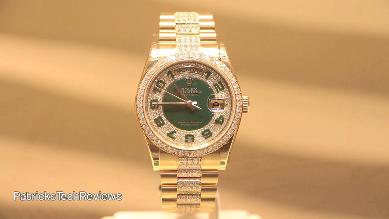 rolex president day mens watches presidential date edity watch