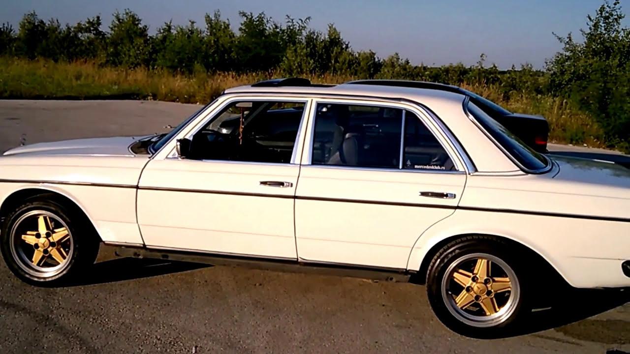 Mercedes w123 Old school HD - YouTube