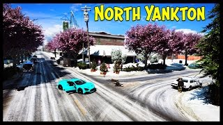 "GTA 5 ""Living North Yankton"" Map Mod + Zenvo ST1 Car Mod! (GTA 5 Mod Showcase)"
