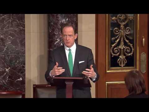 Senator Pat Toomey (R-PA) colloquy with Senator John Cornyn (R-TX)