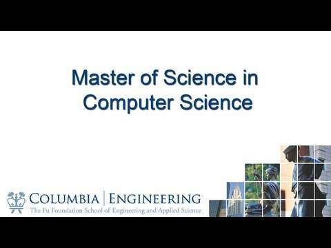 Master of Science in Computer Science