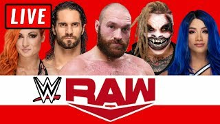 WWE RAW Live Stream October 7th 2019 Watch Along - Full Show Live Reactions