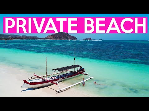 OUR OWN PRIVATE OASIS, LOMBOK! GHOST TOWN! FAMILY TRAVEL VLOG:)