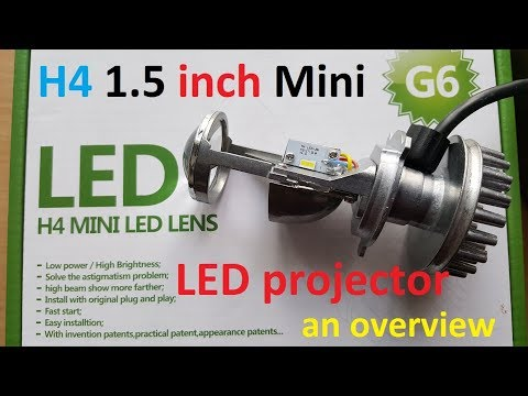 H4 Mini LED Projector 1.5 Inch An Overview