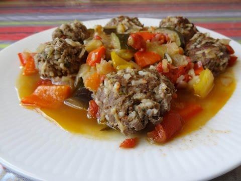 ratatouille-et-boulettes-de-viande-:)-maman-cuisine