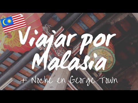 Viajar dentro de Malasia + Vida noctura en George Town