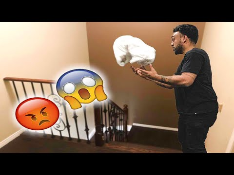 I DROPPED OUR 4 MONTH OLD BABY ON HER HEAD!!! (PRANK ON GIRLFRIEND)