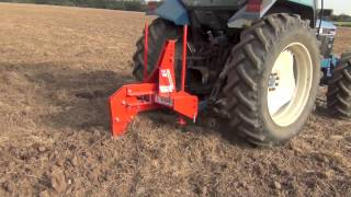 Browns Subsoiler Moledrainer 2013 pulled with Ford 7740